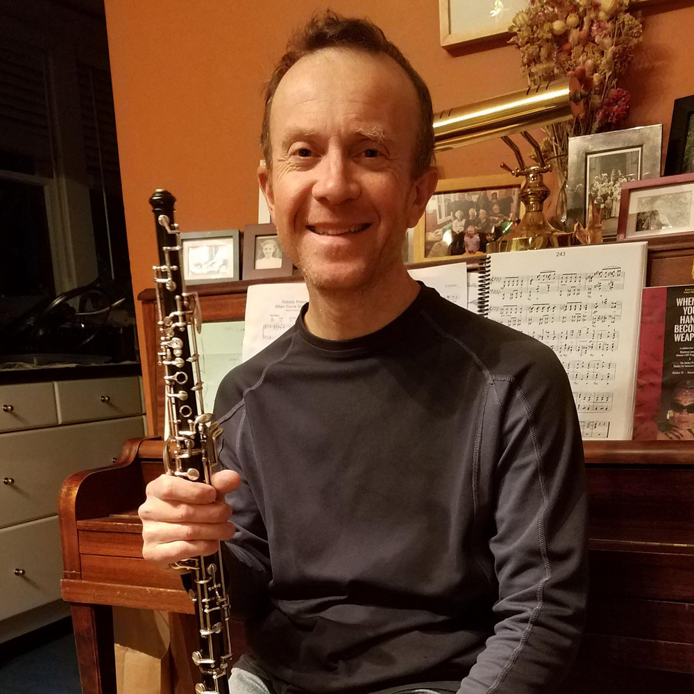 OBOES:    Adrian Martin     Like many oboists, Adrian started playing the oboe because the school had a spare one at the time, and has played in a number of orchestras since then. He received most of his musical training as a member of the Choir of St John's College Cambridge and can be found performing with Emeryville Taiko around the Bay Area. He has been with the Awesome Orchestra Collective since 2015.