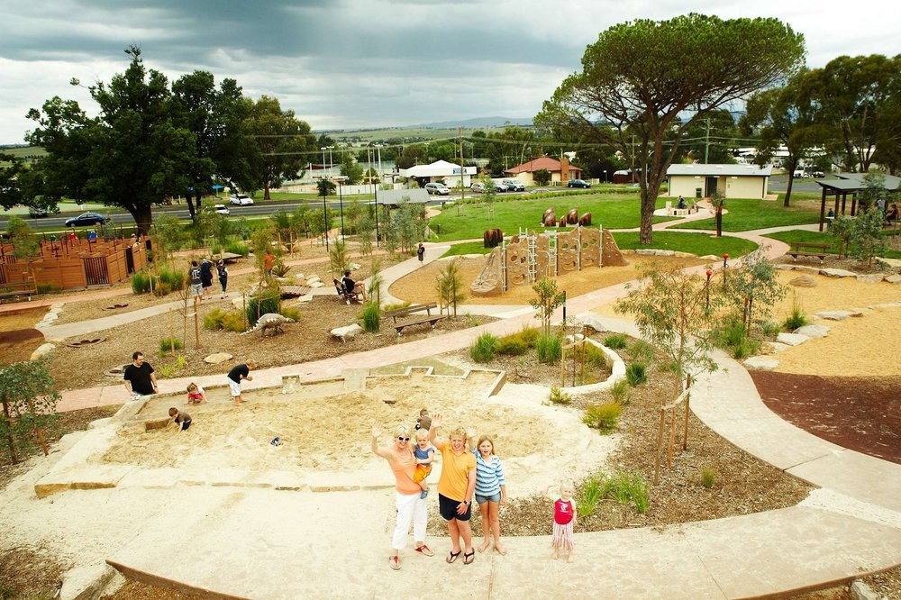 Award Winning Bathurst Adventure Playground