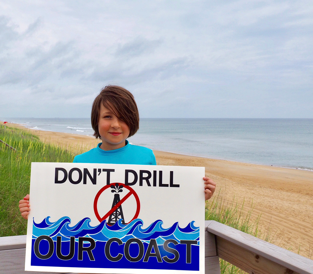 "TAKE ACTION - 1. Make your voice heard—submit public comments on the draft proposal before March 9, 2018.2. Contact your Members of Congress to express opposition: House and Senate to ask them to take action against drilling.3. Show up at a public listening session.4. #StickIt to offshore drilling: Pair a ""Don't Drill"" sticker with a location sticker featuring your favorite beach or coastal town, as well as a second ""Protect Our Coast"" sticker.5. Get a"