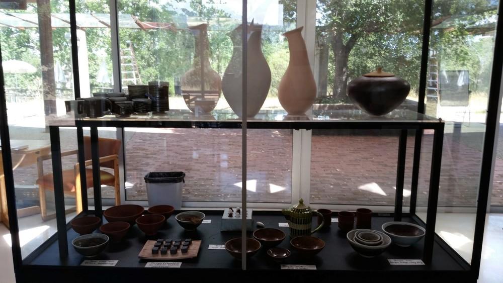 Jasper Ridge Pottery Display