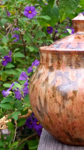 Lidded Jar Detail