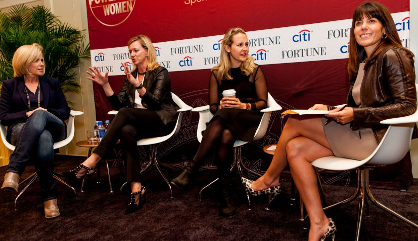 Panel at Fortune's Most Powerful Women Summit