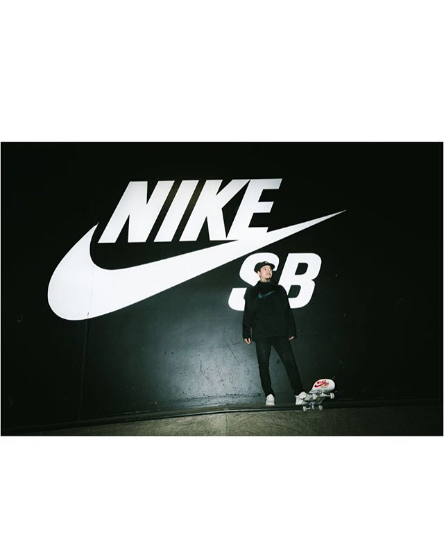 New work for @nikesb of @nyjah @nikelosangeles @victory