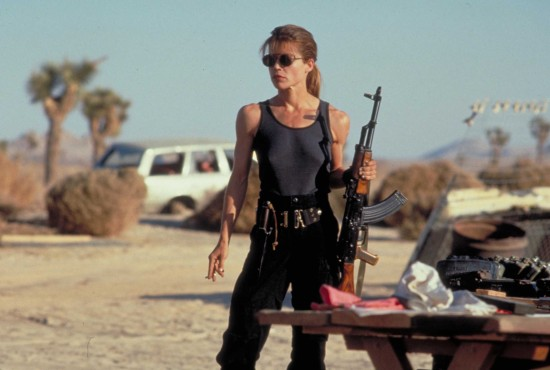 The Terminator - Linda Hamilton as Sarah Connor