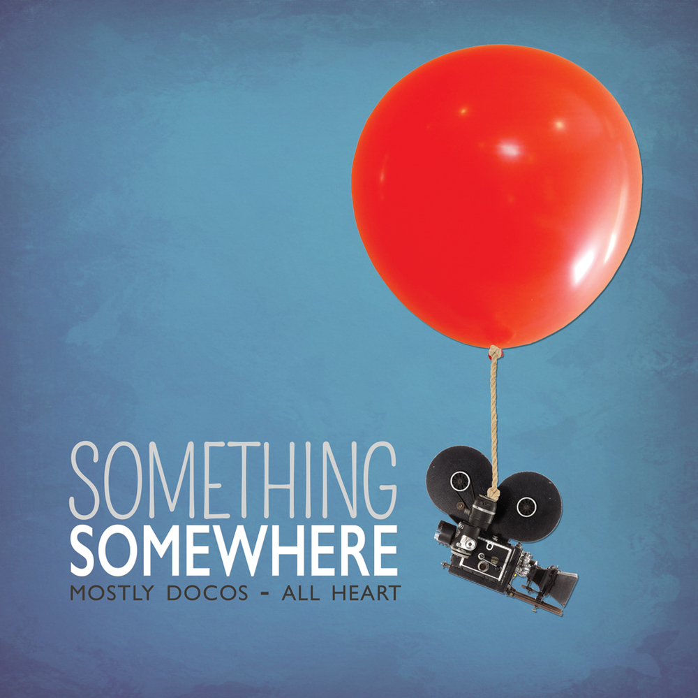 Something Somewhere Film Festival Poster.