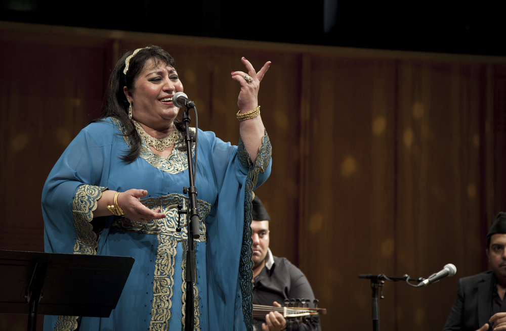 On The Banks Of The Tigris - Farida Mohammad Ali performs at London Barbican Centre.