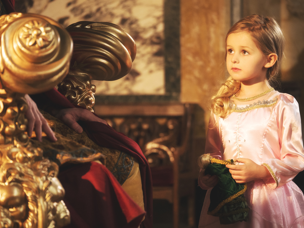 The King and Queen raise Eleanora to rule the kingdom after believing she will be their only child.