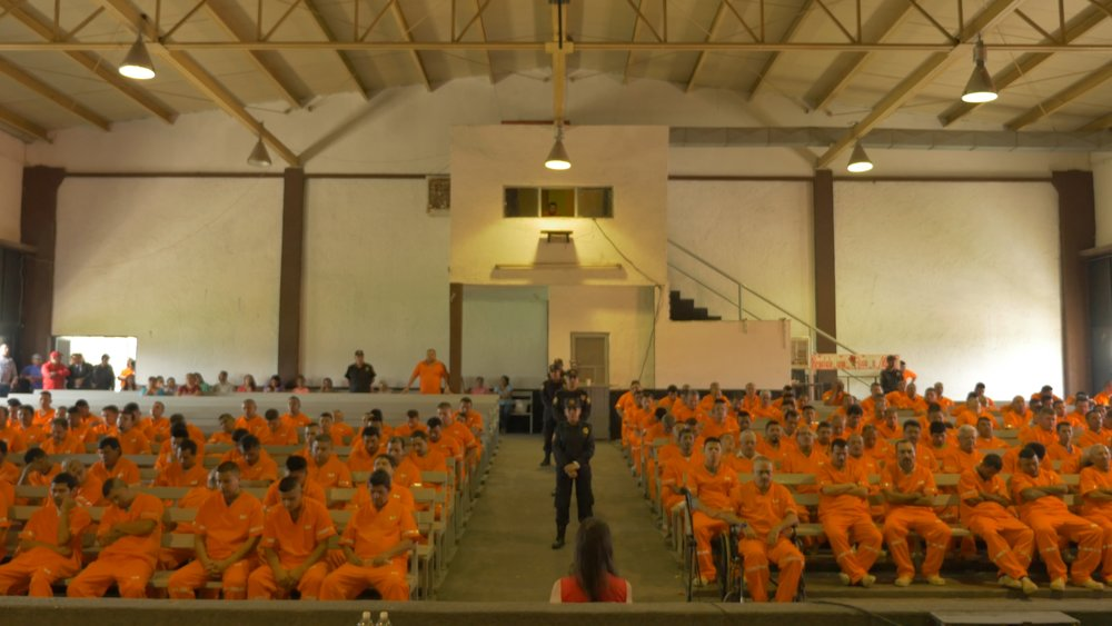 Choice-25% of all the prisoners, guards & management meditate in this Mexican prison
