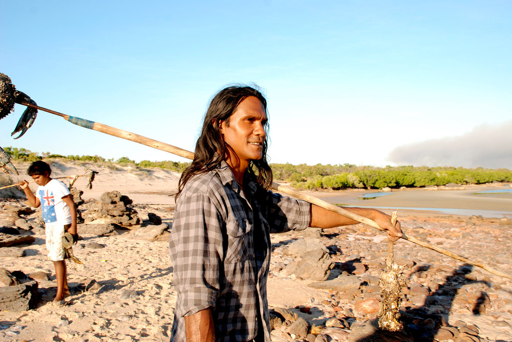 Albert Wiggan from the Kimberley, standing his ground to protect significant Indigenous culture, country and heritage sites which is all under threat from oil and gas extraction.
