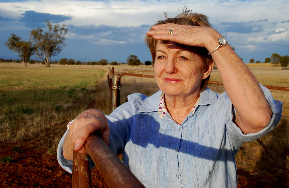 Anne Kennedy — President of the Great Artesian Basin Protection Group, standing her ground to protect the Pilliga groundwater recharge area of the Great Artesian Basin from the coal seam gas industry.