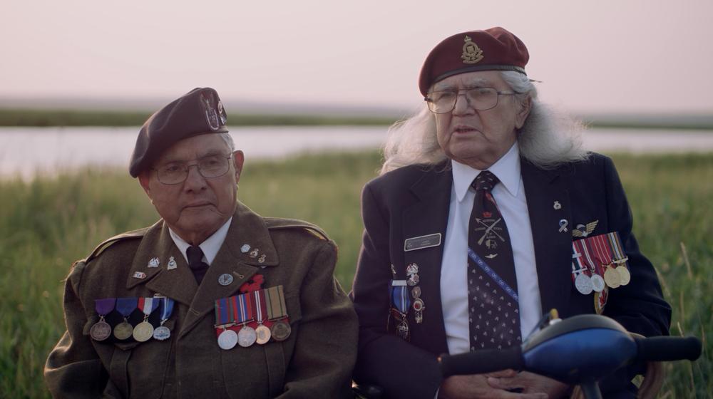 Cree Code Talker - Smokey and James Tomkins