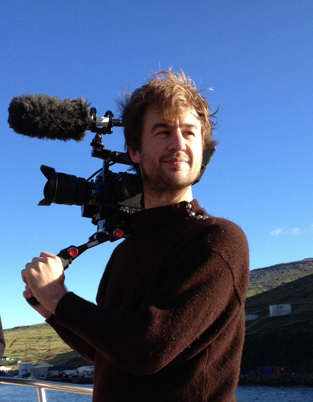 The Islands and The Whales Writer.Director/Producer Mike Day.