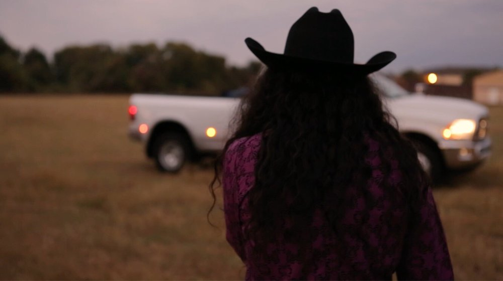 Cowgirl Up - Barrel Racer LaBrelah Hutchins at her family farm in Natchez, Mississippi.