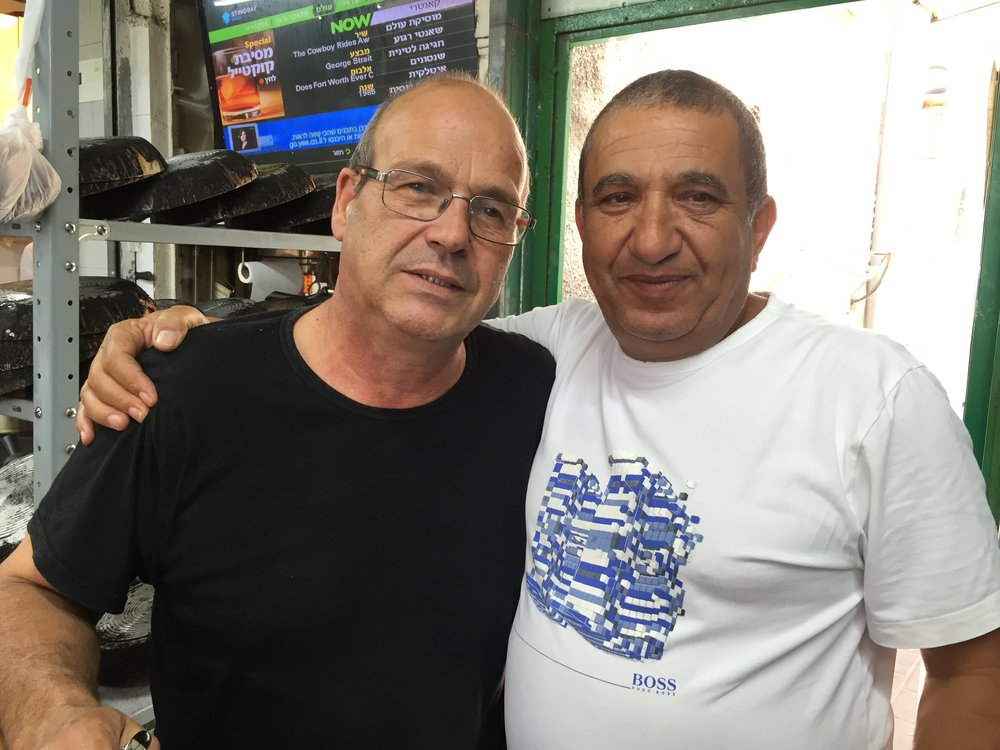 Levinsky Park - Yossi & Yaakov, restaurant owners