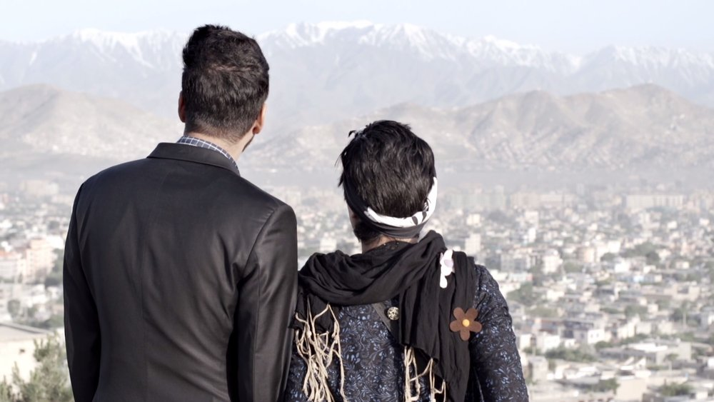 Rebel Beats - Paradise & Diverse Looking At Kabul from the Top of a Hill.