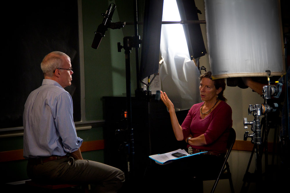 Director Pamela Tanner Boll interviews climate change expert Bill McKibben about the way we raise our food and how we treat the environment is forcing change. McKibben is also the founder of  350.org , a global grassroots climate movement.