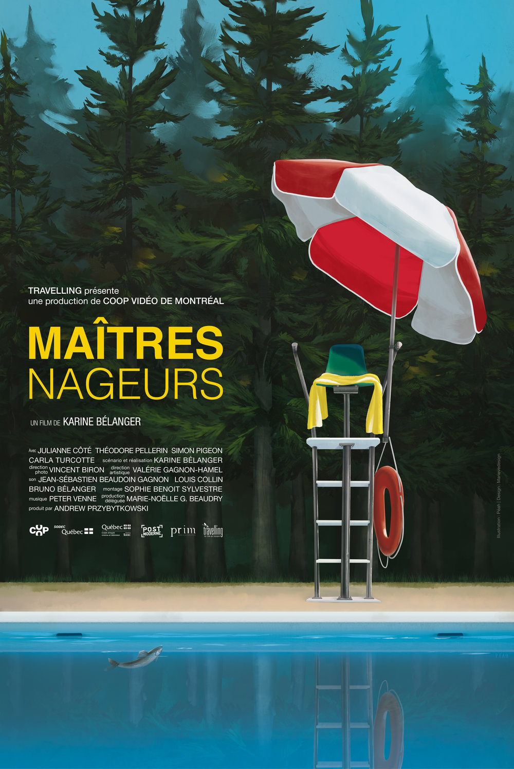 MAÎTRES NAGEURS (By the pool)