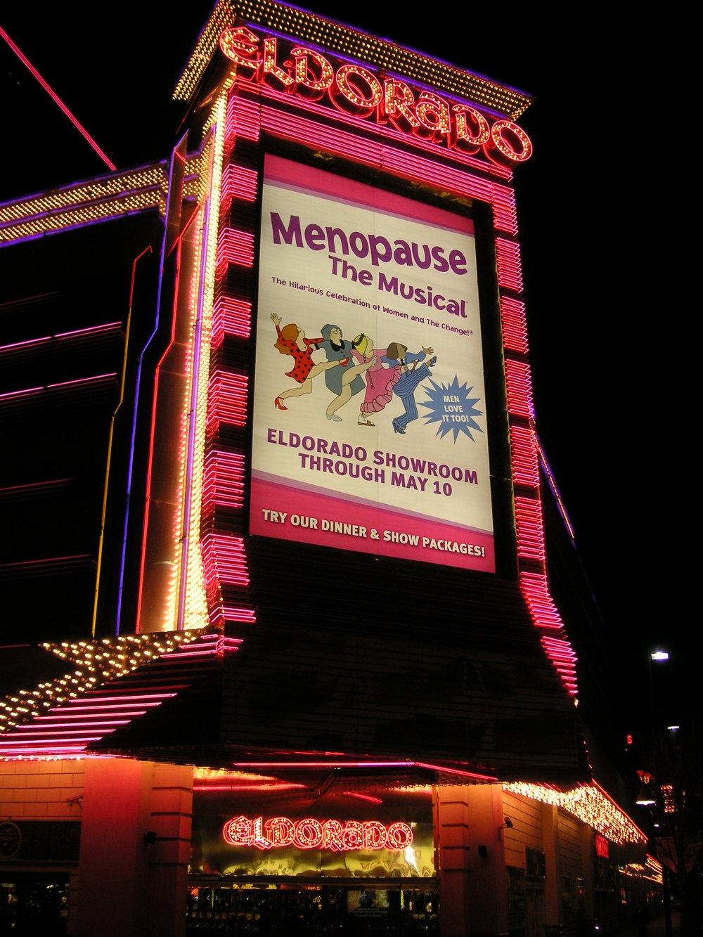 The Neon Struggle - The El Dorado Hotel and Casini, Virginia Street, Reno, NV