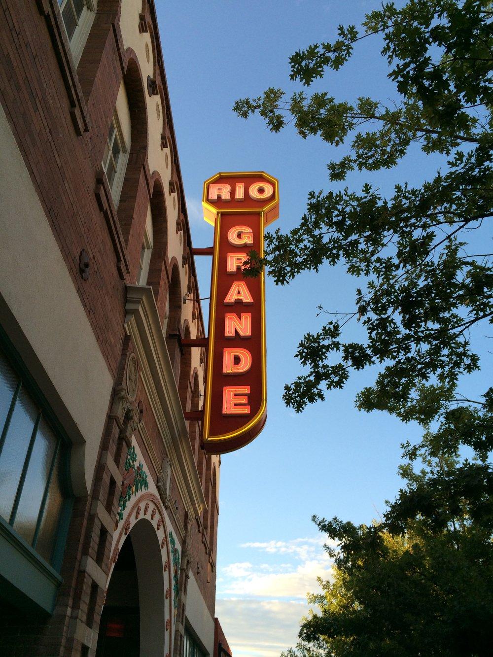 The Neon Struggle - The Rio Grande Theater, Las Cruces, NM