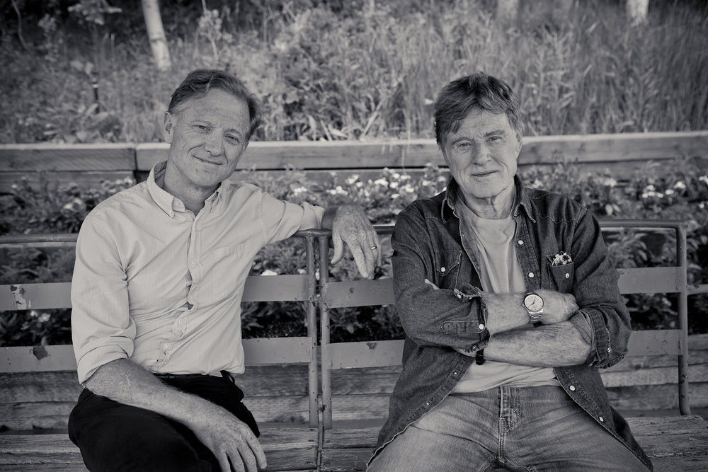 This is Happening: A Clean Energy Revolution - Jamie and Robert Redford at Sundance.