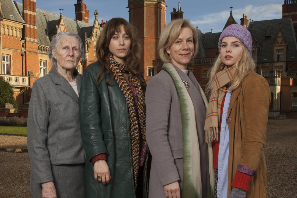 Let Me Go - From L-R, Karin Bertling, Jodhi May, Juliet Stevenson, Lucy Boynton. Andrew Ogilvy Photography