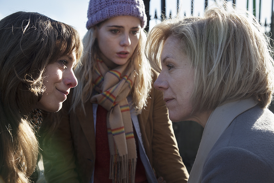 Let Me Go - L-R  Jodhi May, Lucy Boynton, Juliet Stevenson. Andrew Ogilvy Photography