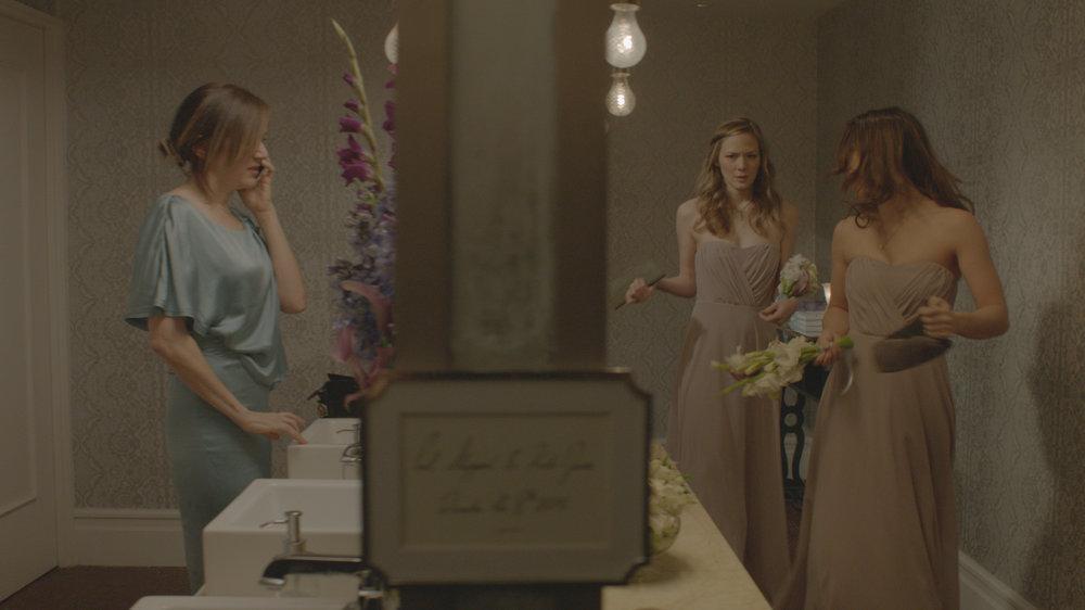 Kathryn (NADIA DAJANI) Jen (LOUISA KRAUSE) and Sara (LILY BALATINCZ) in WAITING