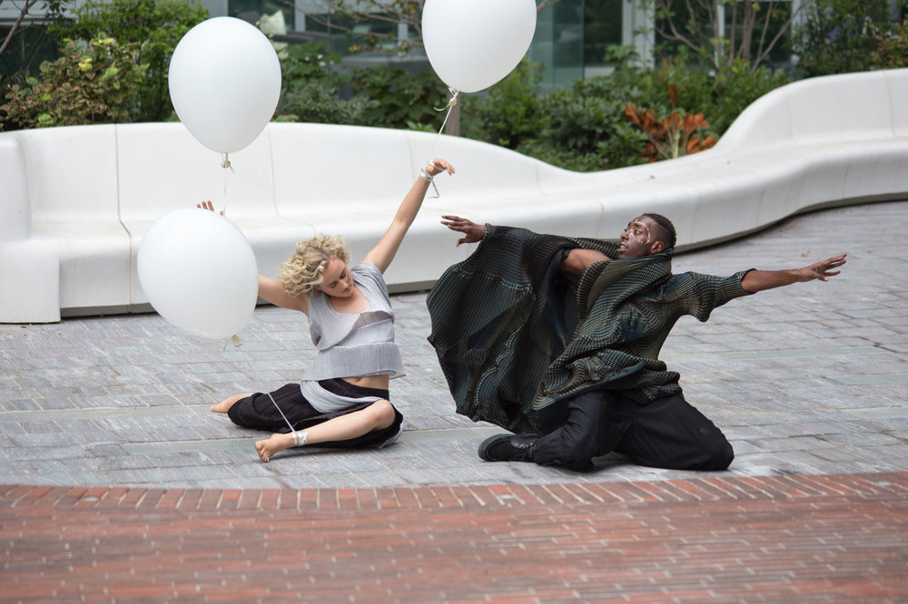 Ghost Story -  Charissa & Storyboard P on the VIA courtyard
