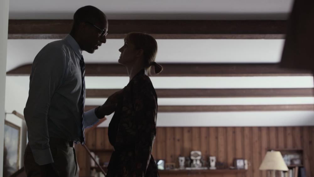 Charles Porter and Francesca Manzi in a scene for JC