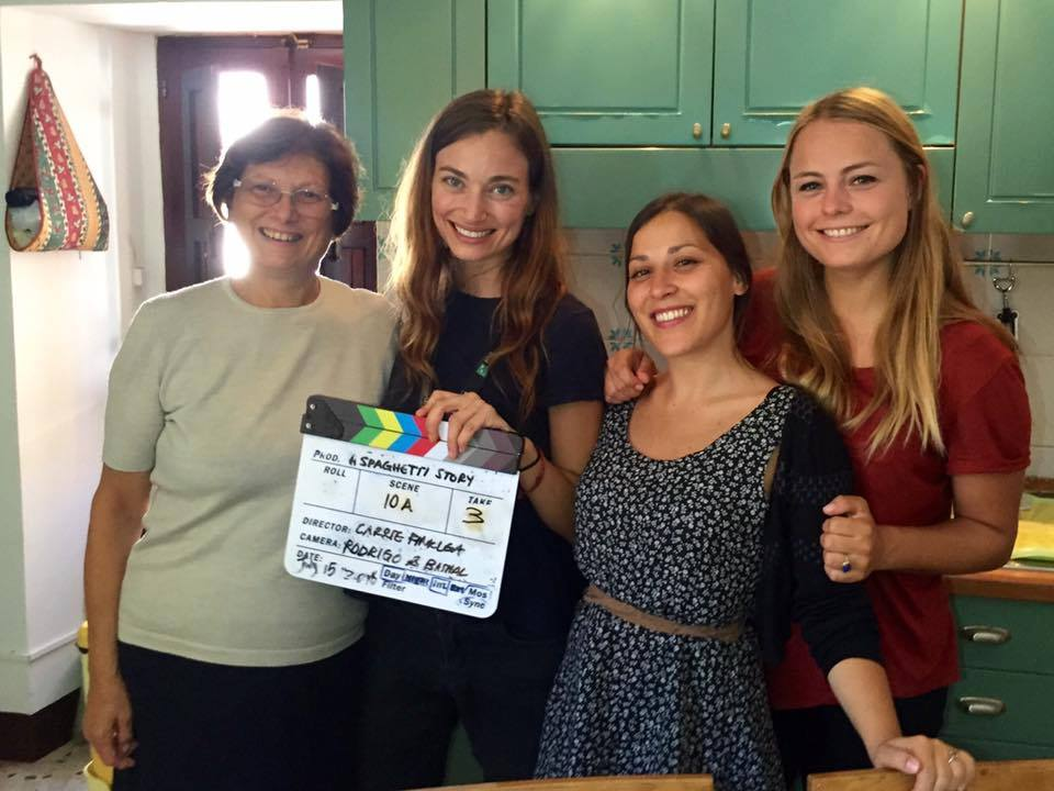 Behind the Scenes - My amazing all-female, international cast.