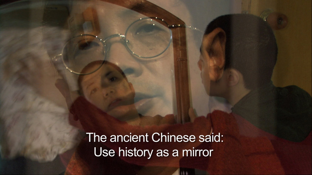 HISTORY IS A MIRROR (Chinese saying)