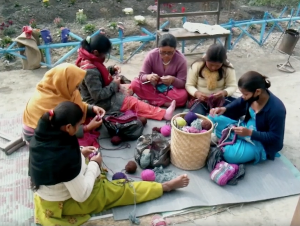 Seven Women Nepal: The Birth Of A Social Enterprise: The disabled women that formed Seven Women.