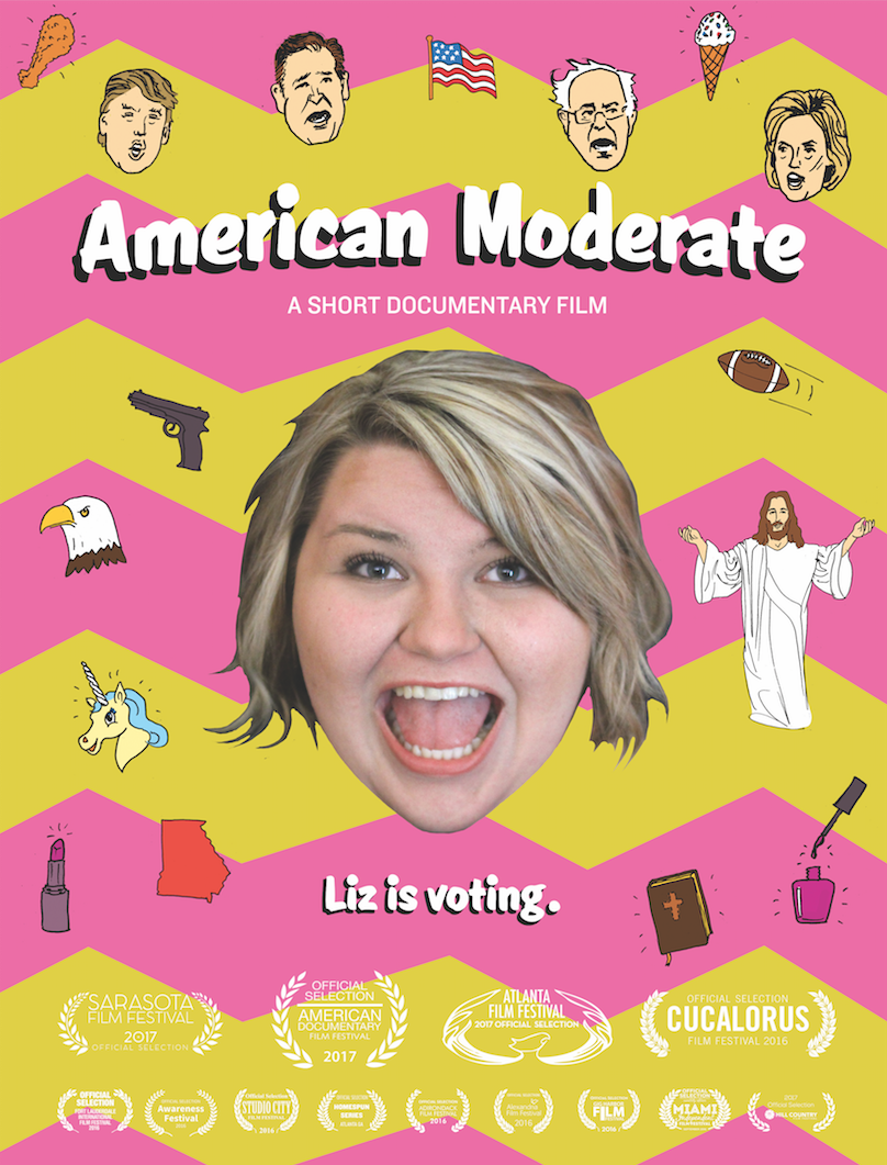 Liz bumbles into the hearts of audiences as American Moderate is enjoying a wildly successful film festival run. PBS has picked up the short film for their REEL SOUTH program.