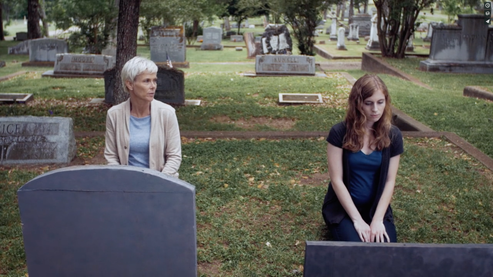 Every Tuesday - Catherine first meets Heather at the cemetery