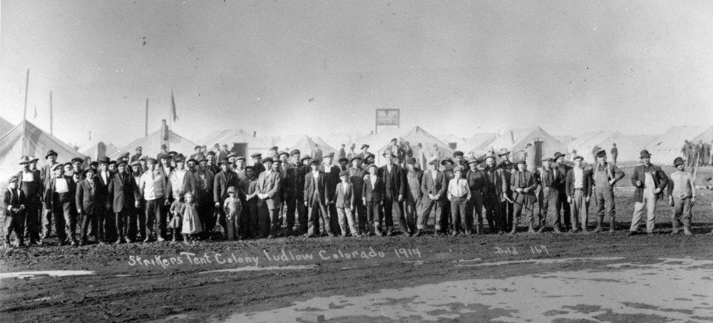 Ludlow, Greek Americans in the Colorado Coal War