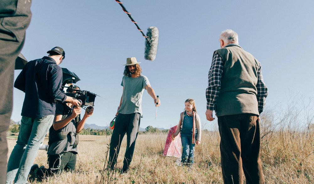 Red Kite - Behind the scenes