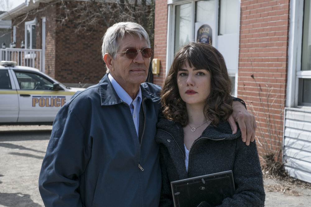 Never Saw It Coming Actors Eric Roberts and Katie Boland
