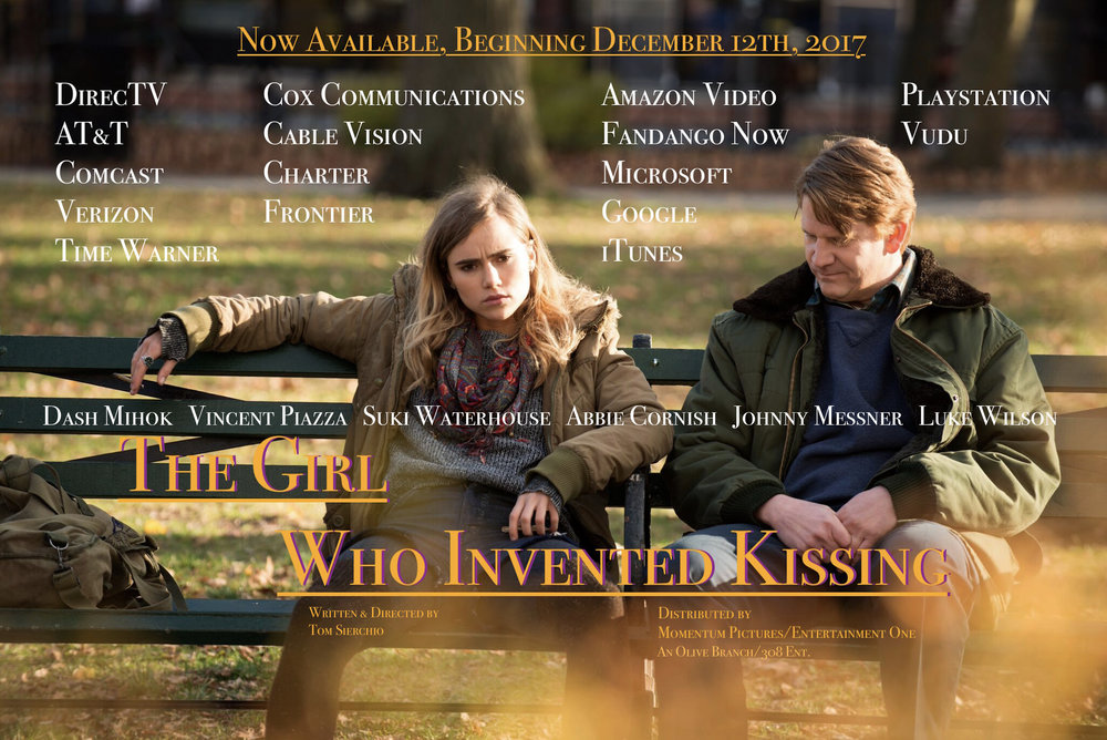 "Suki Waterhouse as ""The Girl"" and Dash Mihok as ""Victor"" in The Girl Who Invented Kissing."