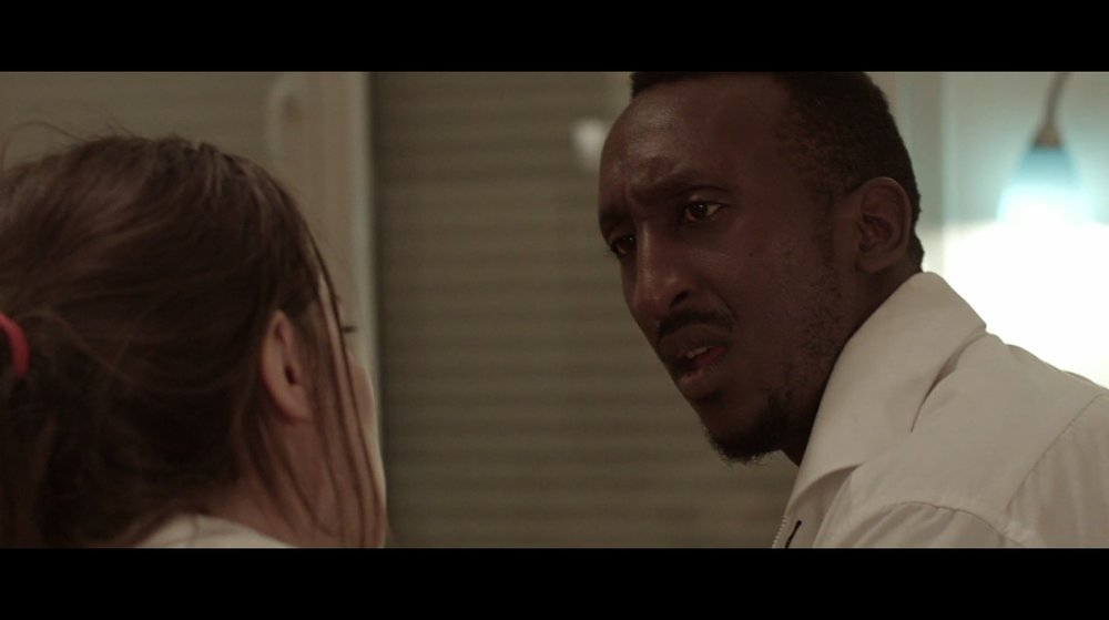 "Christophe Ntakabanyura as ""Christophe"" in The Interview."