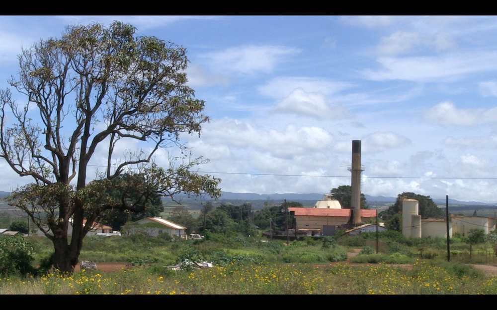 The Sakada Series - What is left of the old Waialua Sugar Mill.