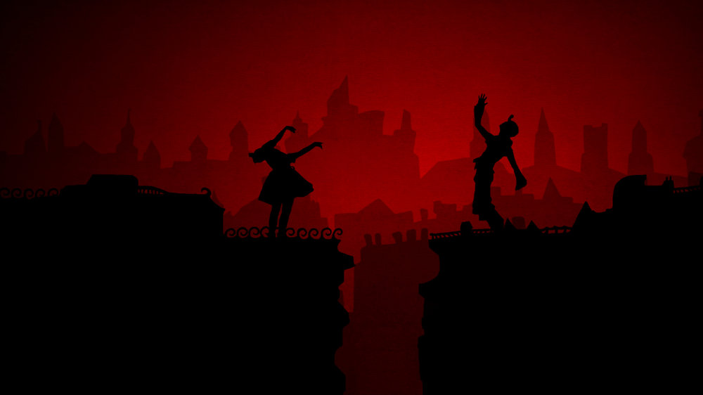 Lotte that Silhouette Girl - The ghosts of Berlin dance and sing about the collapse of the city and all who are affected.