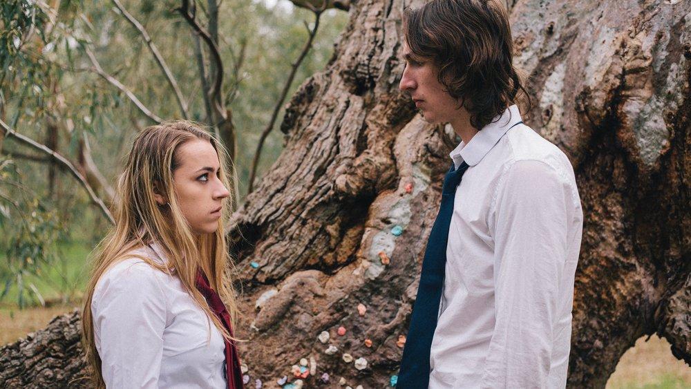 The Blue Ducks - Left Mia Barrett, right Liam Warren