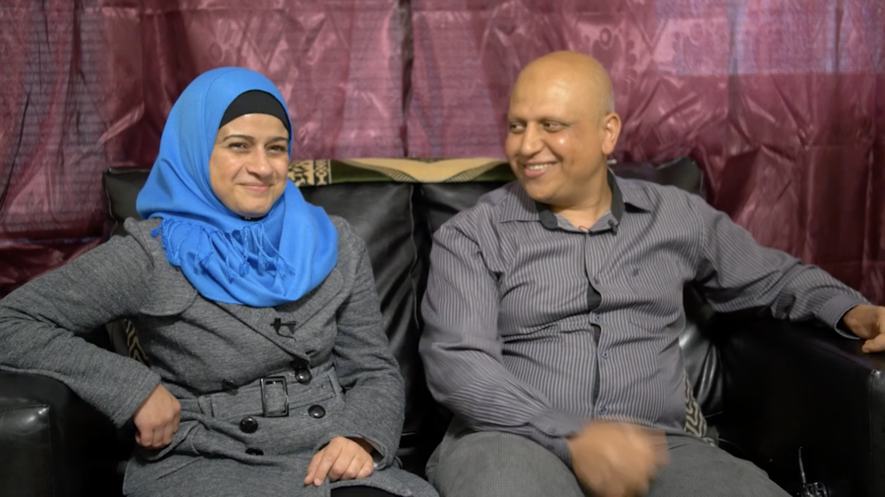Asmaa and Mohammad recount how they first met