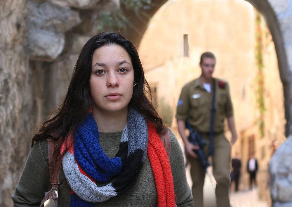Objector - Old City, Jerusalem