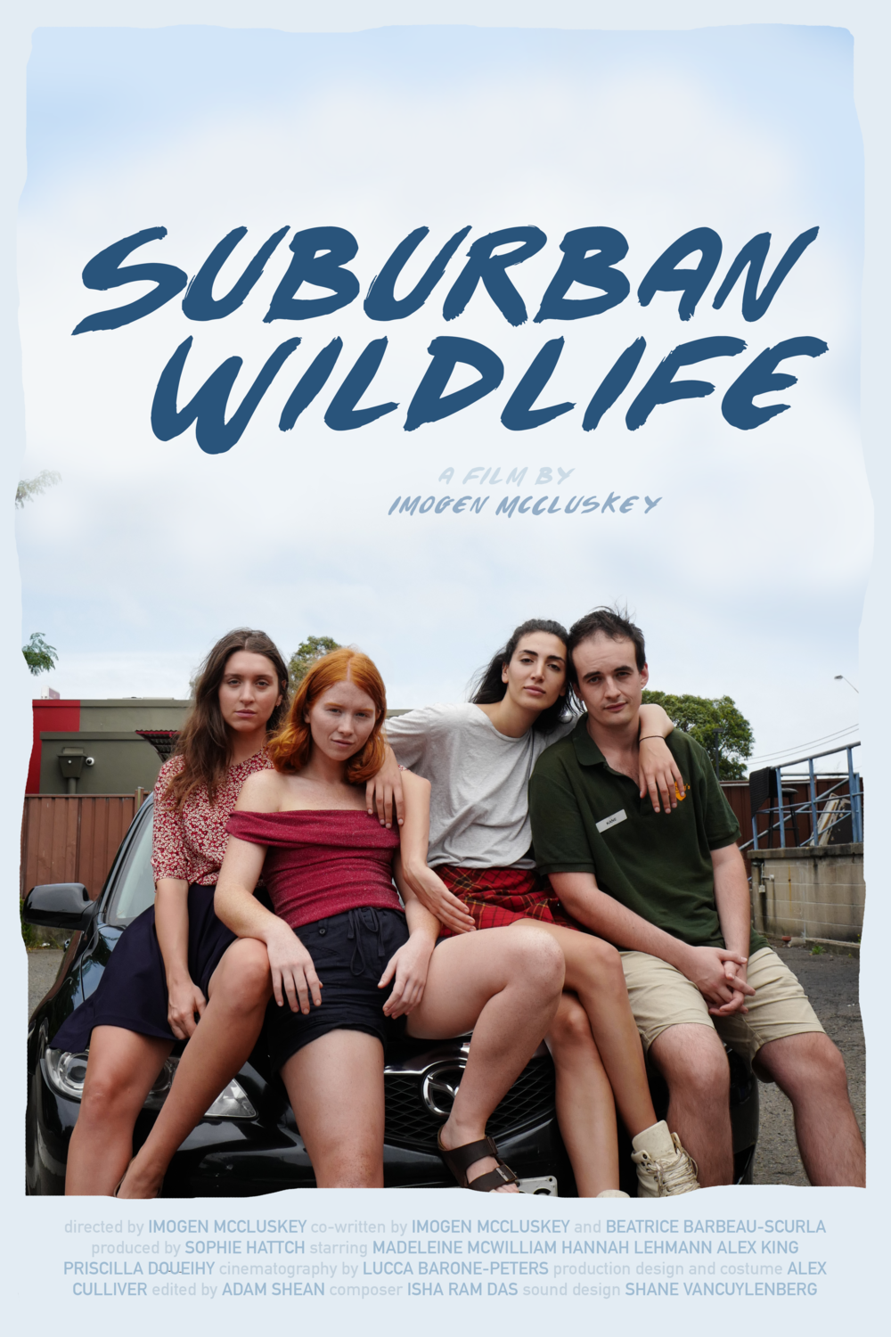 Poster for 'Suburban Wildlife' (2018)