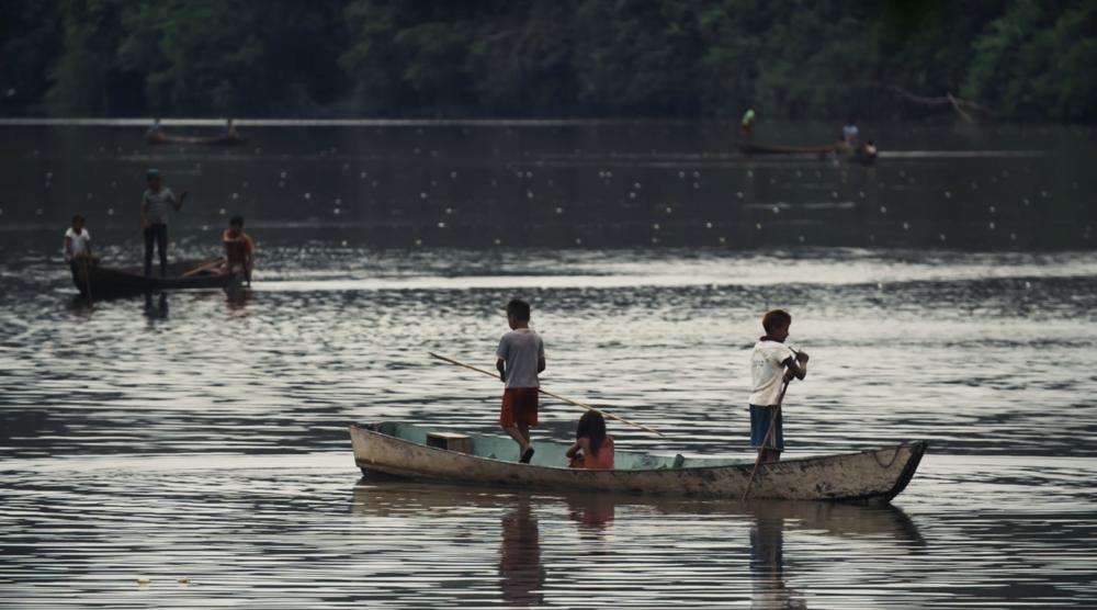 Munduruku fishing ceremony