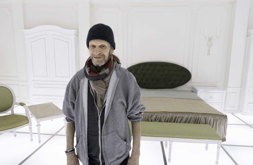 Leon Vitali in '2001'