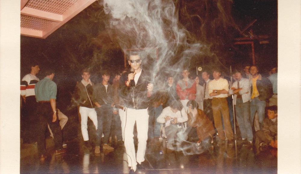 Italo Disco Legacy - Italo hero Fred Ventura performing live in Holland, 1984