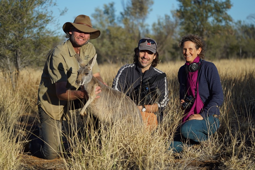 KANGAROO a LOVE HATE story - Behind the scenes with Producer/Director/Cinematographer/Writer Mick McIntyre and Producer/Director/Writer Kate McIntyre Clere