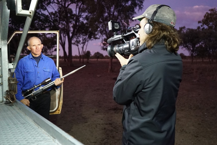 KANGAROO a LOVE HATE story - Behind the scenes with  Producer/Director/Cinematographer/Writer Mick McIntyre
